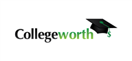 Logoinn created this logo for Collegeworth.com - who are in the Logo Download  Sectors