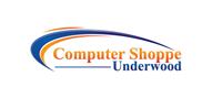 Logoinn created this logo for Computer Shoppe Underwood - who are in the Information Technology Logo Design  Sectors
