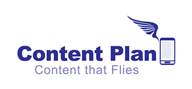 Logoinn created this logo for Content Plan - who are in the Communication Logo Design  Sectors