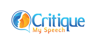 Logoinn created this logo for Critique My Speech - who are in the Consulting Logo Design  Sectors