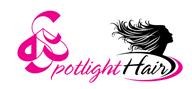 Logoinn created this logo for D&G Spotlight Hair - who are in the Hair Logo Design  Sectors