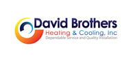 Logoinn created this logo for David Brothers Heating & Cooling, Inc. - who are in the Engineering Services Logo Design  Sectors