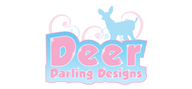 Logoinn created this logo for Deer Darling Designs - who are in the Fashion Logo Design  Sectors