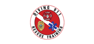 Logoinn created this logo for Diving 911 Rescue Training - who are in the School Logo Design  Sectors