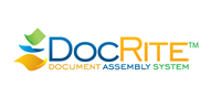 Logoinn created this logo for DocRiteUK Limited - who are in the Law Logo Design  Sectors