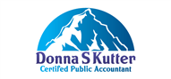 Logoinn created this logo for Donna S. Kutter CPA LLC - who are in the Accountancy Firm Logo Design  Sectors