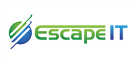 Logoinn created this logo for Escape IT - who are in the Computer Logo Design  Sectors