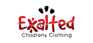 Logoinn created this logo for Exalted Childrens Clothing  - who are in the Apparel Logo Design  Sectors