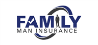 Logoinn created this logo for Family Man Insurance - who are in the Insurance Logo Design  Sectors