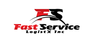 Logoinn created this logo for Fast Service Logistx Inc - who are in the Transportation Logo Design  Sectors