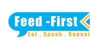 Logoinn created this logo for Feed First - who are in the Communication Logo Design  Sectors