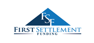 Logoinn created this logo for First Settlement Funding, LLC - who are in the Law Logo Design  Sectors