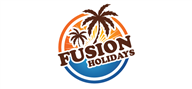 Logoinn created this logo for Fusion Holidays Limited - who are in the Hotel Logo  Sectors