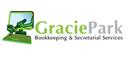 Logoinn created this logo for Gracie Park Bookkeeping & Secretarial Services - who are in the Computer Logo Design  Sectors