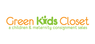 Logoinn created this logo for Green Kids Closet LLC - who are in the Kids Logo  Sectors