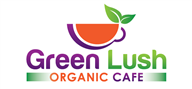 Logoinn created this logo for Green Lush Organic Cafe - who are in the Food Logo Design  Sectors