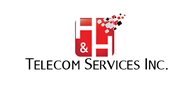 Logoinn created this logo for H & H Telecom Services Inc. - who are in the Engineering Services Logo Design  Sectors