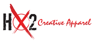 Logoinn created this logo for HX2 Creative Apparel - who are in the Apparel Logo Design  Sectors
