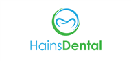 Logoinn created this logo for Hains Dental - who are in the HealthCare Logo Design  Sectors