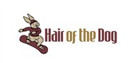 Logoinn created this logo for Hair of the Dog               - who are in the Logo Download  Sectors