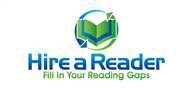 Logoinn created this logo for Hire a Reader - who are in the Computer Logo Design  Sectors