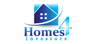Logoinn created this logo for Homes 4 Investors - who are in the Real Estate Logo Design  Sectors