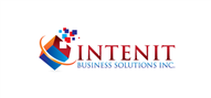 Logoinn created this logo for INTENIT Business Solutions Inc. - who are in the Information Technology Logo Design  Sectors