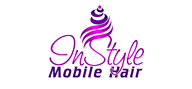 Logoinn created this logo for InStyle Mobile Hair - who are in the Hair Logo Design  Sectors