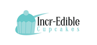 Logoinn created this logo for Incr-Edible Cupcakes - who are in the Cafes Logo Design  Sectors