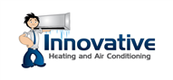 Logoinn created this logo for Innovative Heating and Air Conditioning, LLC - who are in the Illustration Logo  Sectors