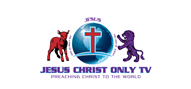 Logoinn created this logo for JESUS CHRIST ONLY TV - who are in the Religious Logo Design  Sectors