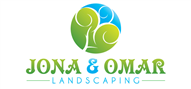 Logoinn created this logo for JONA & OMAR LANDSCAPING  HARDSCAPE  & LAWN MAINTEN - who are in the Landscape Logo Design  Sectors
