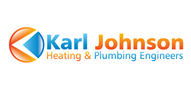 Logoinn created this logo for Karl Johnson Heating & Plumbing Engineers - who are in the Engineering Services Logo Design  Sectors