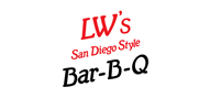 Logoinn created this logo for LWs San Diego Style BBQ - who are in the Cafes Logo Design  Sectors