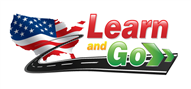 Logoinn created this logo for Learn And Go Traffic School - who are in the Learning Logo  Sectors