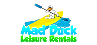 Logoinn created this logo for Mad Duck Leisure Rentals - who are in the Equipment Logo Design  Sectors