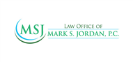 Logoinn created this logo for Mark S. Jordan, P.C. - who are in the Law Logo Design  Sectors