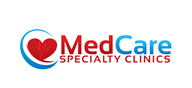 Logoinn created this logo for MedCare Specialty Clinics - who are in the Doctors Logo Design  Sectors