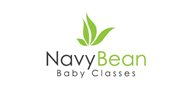 Logoinn created this logo for Navy Bean Baby Classes - who are in the Health Logo Design  Sectors