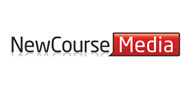 Logoinn created this logo for New Course Media - who are in the Information Technology Logo Design  Sectors
