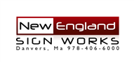 Logoinn created this logo for New England Sign Works - who are in the Logo Download  Sectors