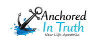 Logoinn created this logo for New Life Apostolic - who are in the Church Logo Design  Sectors