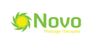 Logoinn created this logo for Novo Massage Therapies - who are in the Health Logo Design  Sectors