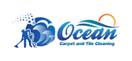 Logoinn created this logo for Ocean Carpet & Tile Cleaning Service - who are in the Cleaning Services Logo Design  Sectors