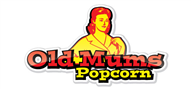 Logoinn created this logo for Old Mums Popcorn - who are in the Illustration Logo  Sectors