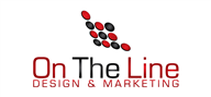 Logoinn created this logo for On The Line Design & Marketing - who are in the IT Logo Design  Sectors