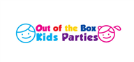 Logoinn created this logo for Out of the Box Kids Parties - who are in the Kids Logo  Sectors