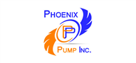 Logoinn created this logo for Phoenix Pump Inc. - who are in the Equipment Logo Design  Sectors