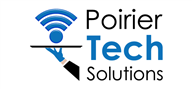 Logoinn created this logo for Poirier Tech Solutions - who are in the Computer Logo Design  Sectors