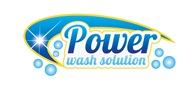 Logoinn created this logo for Power wash solution  - who are in the Cleaning Services Logo Design  Sectors